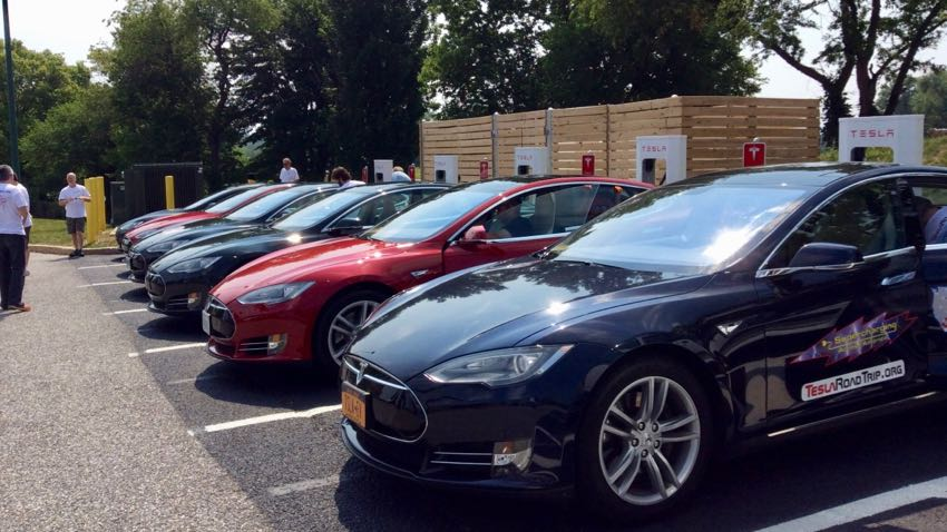 Supercharging Across America Tesla