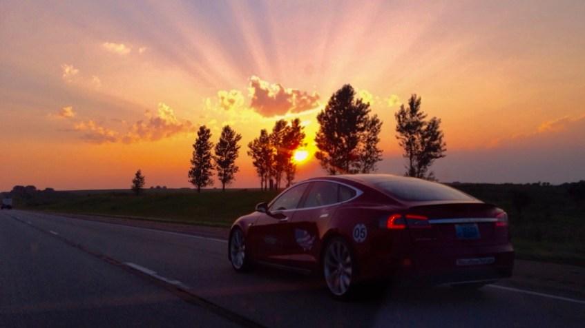 Tesla Sunset, St. Charles, MN