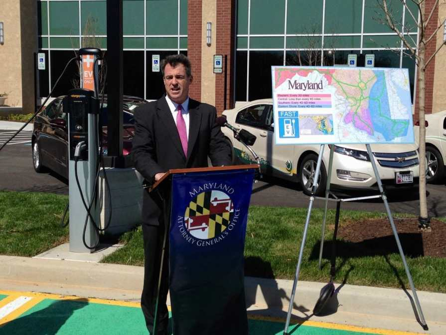 Maryland network fast charger announcement