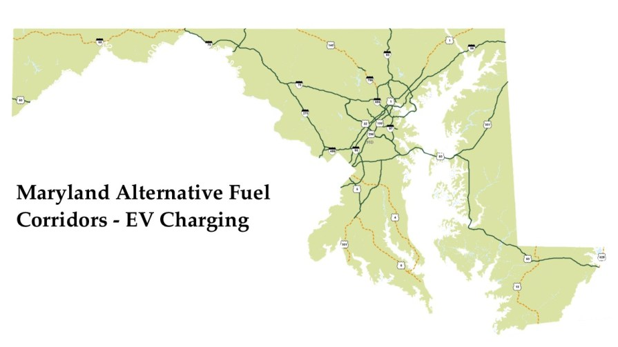 Maryland Alternative Fuel Corridors