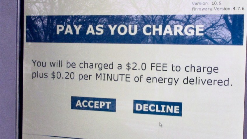 Greenbelt Charger Fee