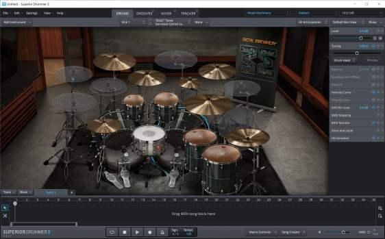 Superior Drummer 3.1.7 Crack