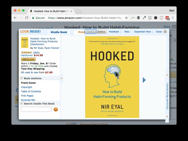 Get Hooked on Amazon