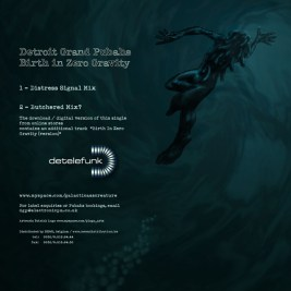 Album Back Cover layout & illustration
