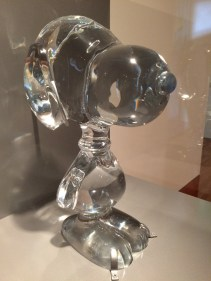 The Baccarat Crystal Snoopy