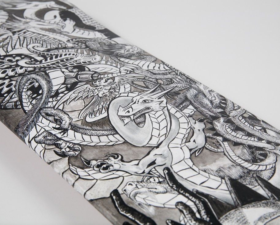 Wrestling-Dragons-Detail-B