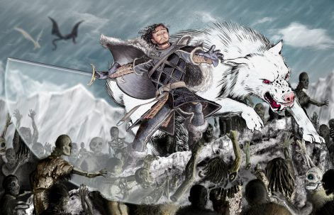 """""""Beyond The Wall"""" Game of Thrones fanart."""
