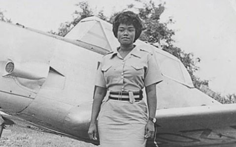 Melody-Millicent-Dankwa first female pilot