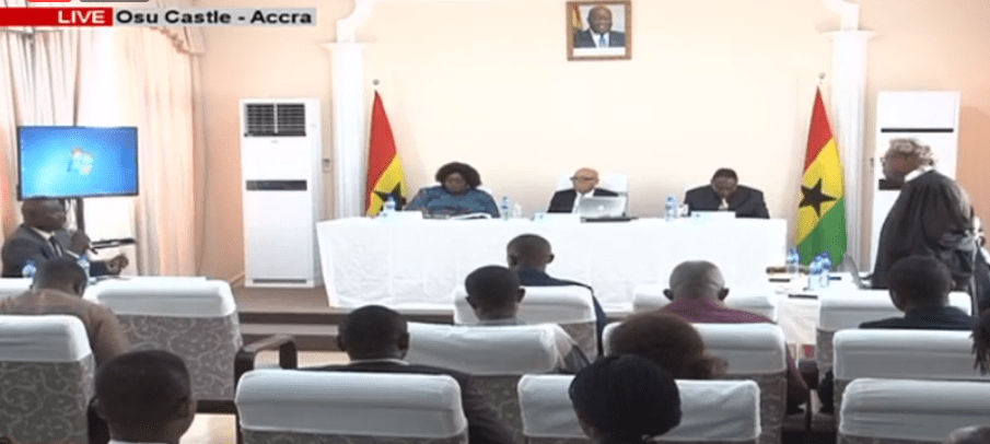 LIVE STREAM: Ayawaso West Wuogon Commission of Inquiry Hearing