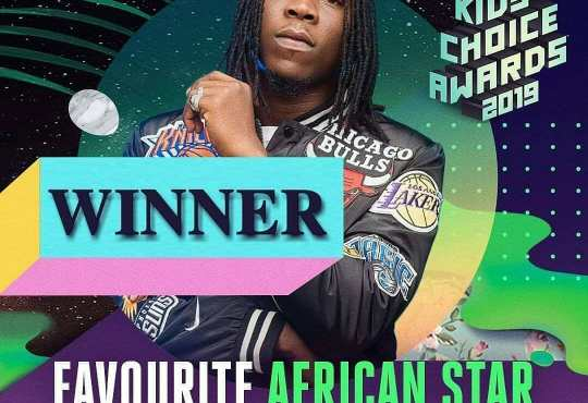 Stonebwoy Kids choice awards 2019 winner