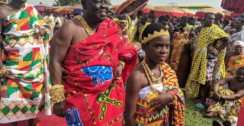 DJ Switch Asantehene 20th anniversary