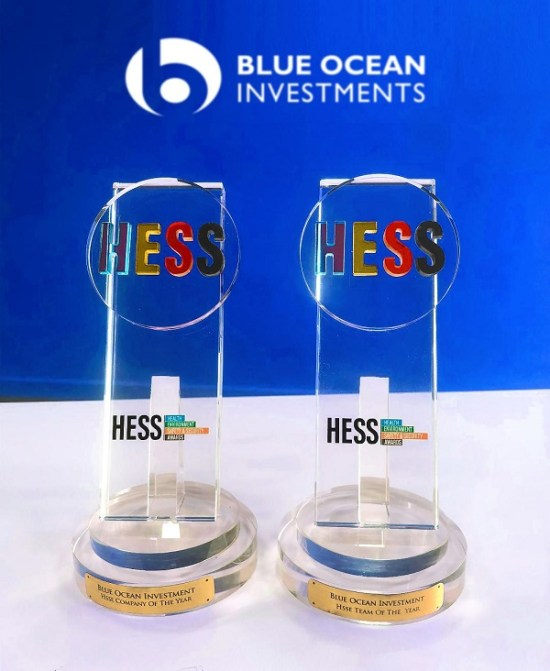 Blue Ocean Investments HESS 2019 awards