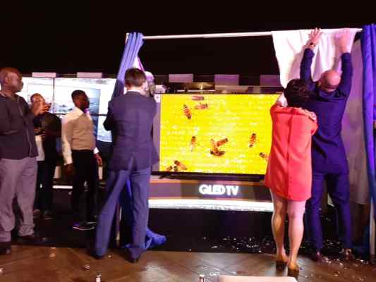 Electroland Ghana launches world's first QLED 8K TV, Samsung