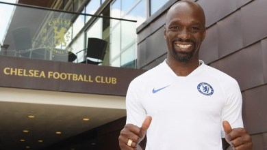 Claude Makelele at Chelsea FC