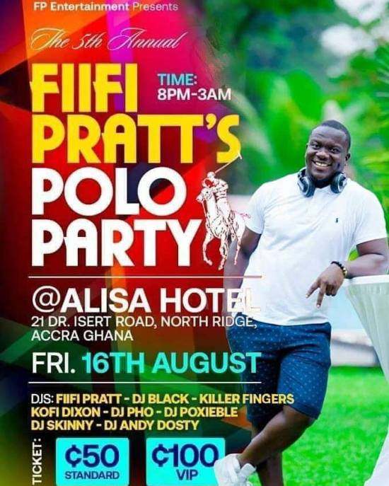 DJ Pho at Fiifi Pratt Polo Party