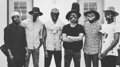 Ghanaian alternative rock band Dark Suburb