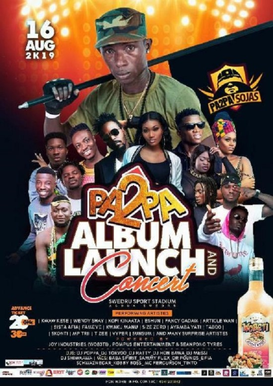 Pa2pa Album Launch Concert