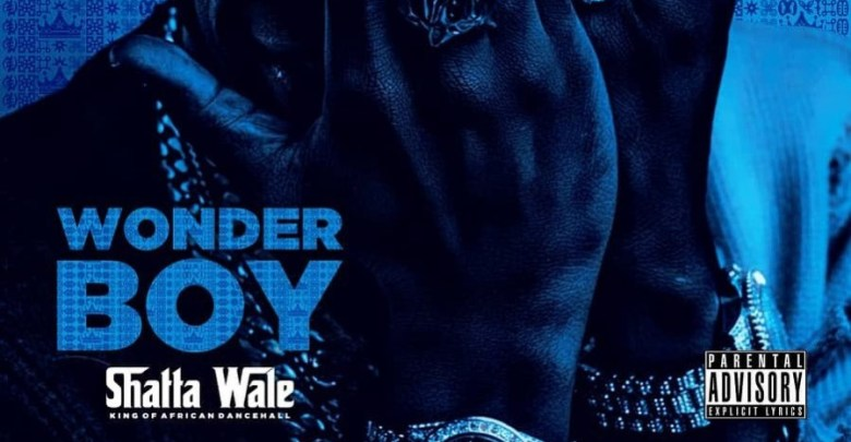 Shatta Wale Wonder Boy Album cover art front