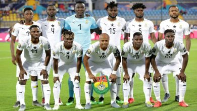 Ghana Black Stars VS South Africa
