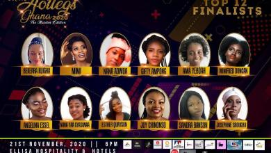 Meet Miss Hotlegs Ghana 2020 Top 12 Finalists
