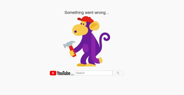 Youtube Google downtime outage