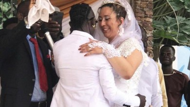 Patapaa liha miller white wedding