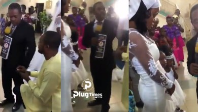 Pastor Stop Man Proposing Girlfriend Wedding