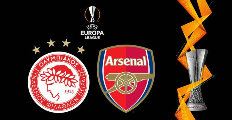 WATCH LIVE Olympiacos vs Arsenal Europa League