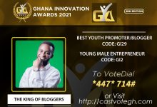 The King of Bloggers Ghana Innovation Awards 2021