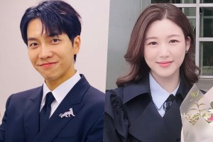 Lee Seung Gi dating Lee Da In relationship