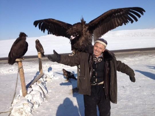 Aigle kazak.