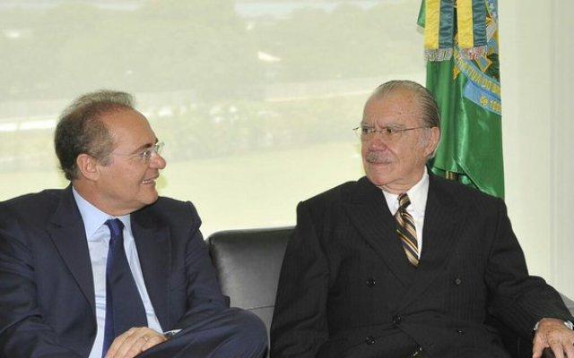 Renan Calheiros y José Sarney