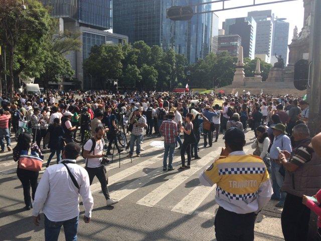 marcha #RenunciaYa
