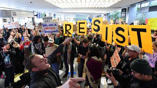 town hall resist
