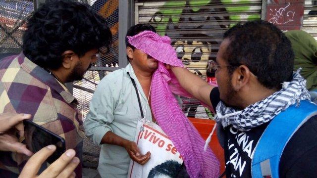 Ayotzinapa gas