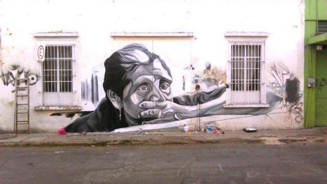 gentrificación graffitti