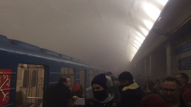 San Petersburgo explosión