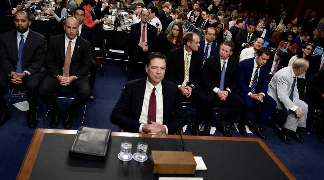 audiencia Comey Senado