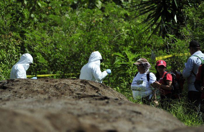 Desde 2007 han aparecido más de mil fosas clandestinas en el país