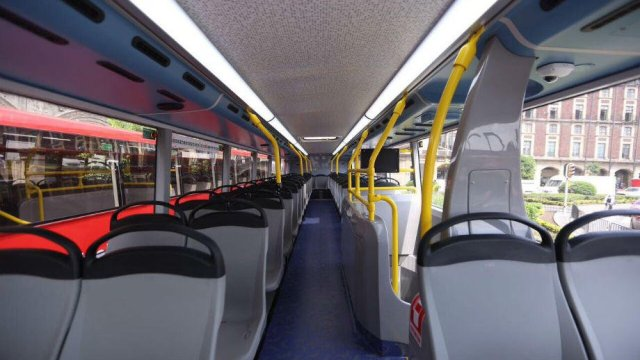 Metrobús de dos pisos será chaparro