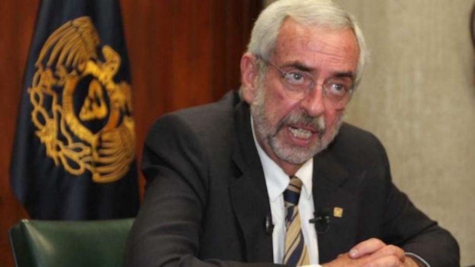 Enrique Graue espera que baje narcomenudeo en Ciudad Universitaria