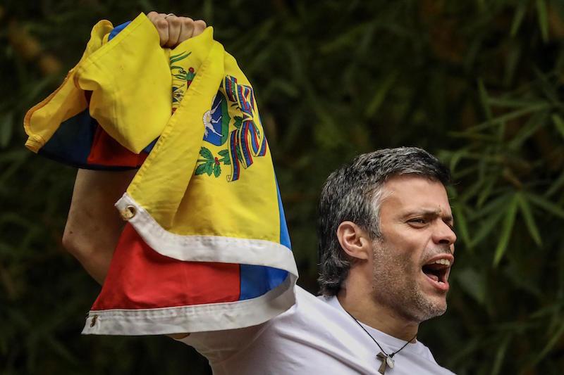 Arresto domiciliario - Leopoldo López en la actualidad