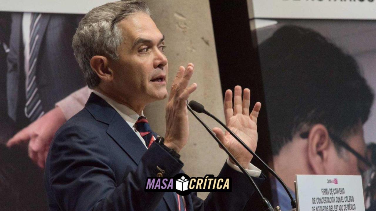 Mancera lidera elecciones para 2018 en el FAD