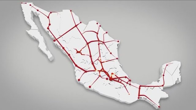 red ferroviaria México