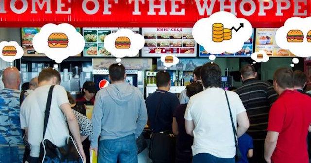 Burger King whopper criptomoneda