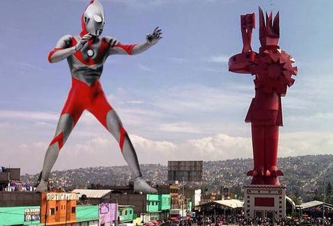 Guerrero chimalli contra las momias gigantes