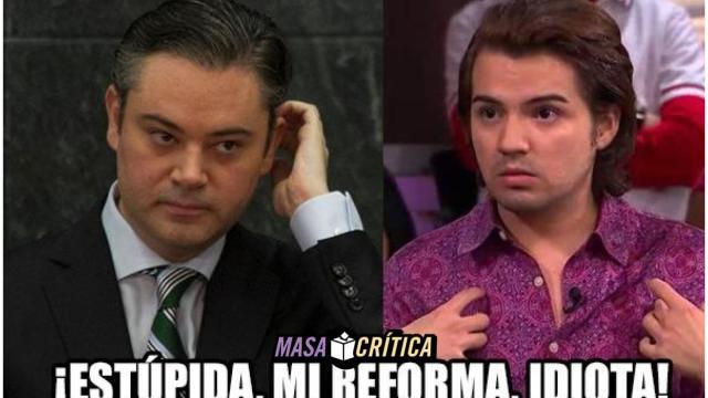 Estúpida CNTE, mi reforme educativa, idiota!
