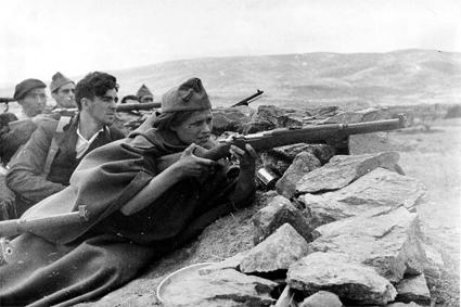Frente de Jaen. Brigadas Internacionales en España