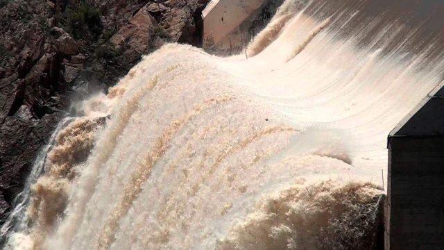 Conagua advierte de riesgo de inundación por presas