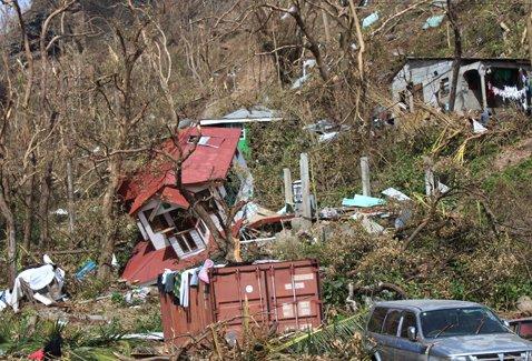 Puerto Rico devastado tras el paso de María